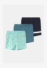Name it - NBMBORRIS 3 PACK - Shorts - blue tint - 0