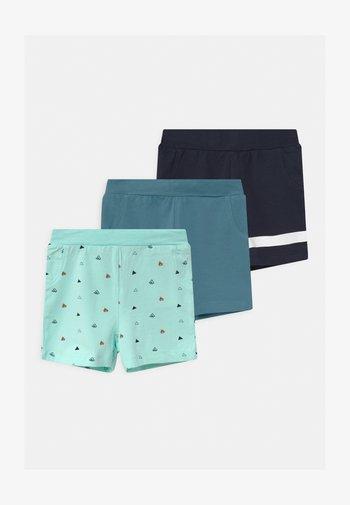 NBMBORRIS 3 PACK - Shorts - blue tint