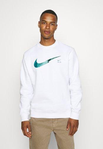 ZIGZAG CREW - Sweatshirt - white