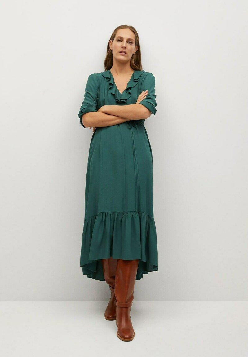Mango - NOIR - Day dress - grün
