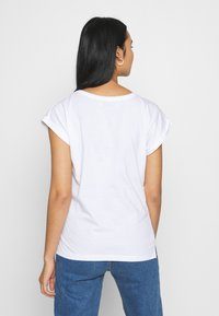 Dedicated - VISBY I WANT TO DANCE - T-shirt print - white - 2