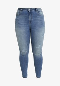Vero Moda - Jeans Skinny Fit - medium blue denim - 4