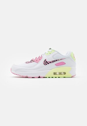 AIR MAX 90 - Trainers - white/pink rise/pink rise/barely volt/black