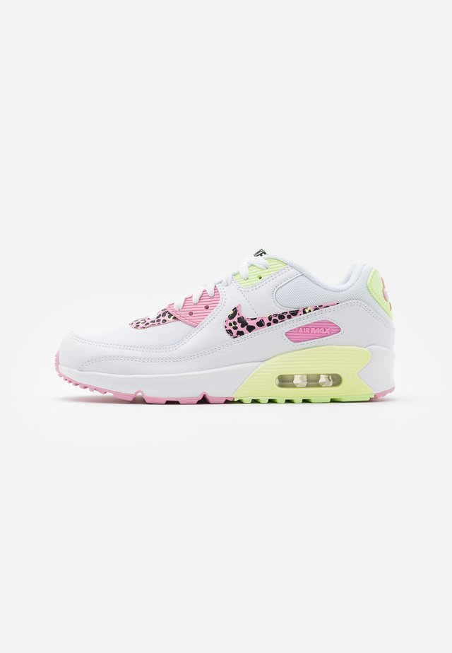 AIR MAX 90 - Baskets basses - white/pink rise/pink rise/barely volt/black