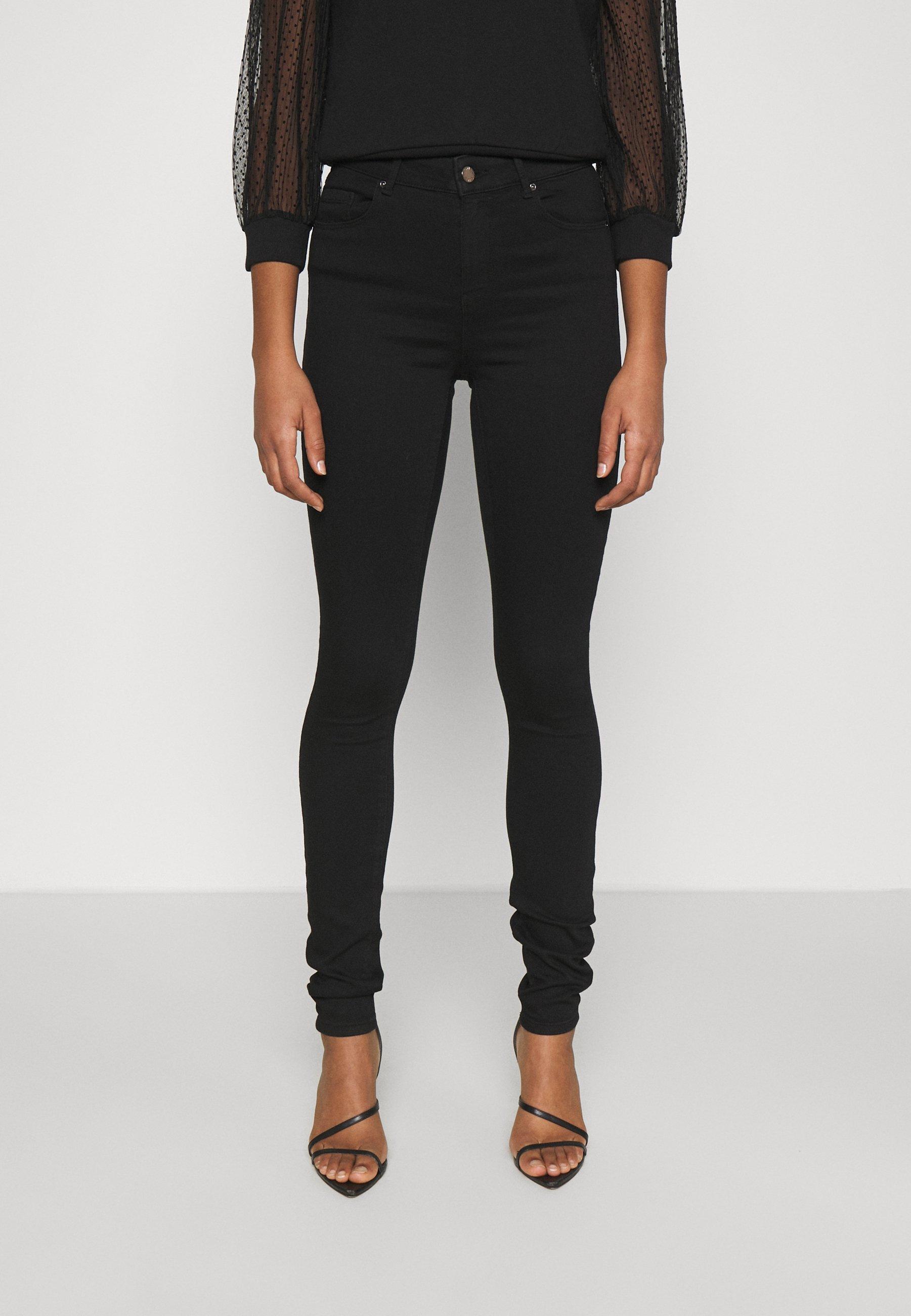 Femme ONLGLOBAL MID BOX - Jeans Skinny