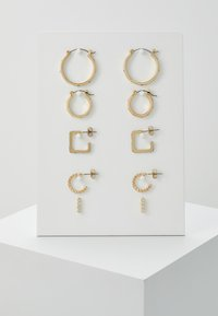 Pieces - PCNINKIE HOOP EARRINGS 5 PACK - Ohrringe - gold-coloured - 0