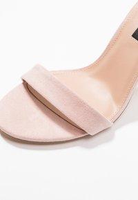 Even&Odd - Sandály na vysokém podpatku - rose - 2