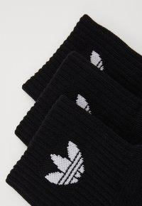 adidas Originals - MID ANKLE 3 PACK - Socks - black - 1
