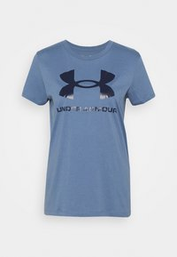 Under Armour - LIVE SPORTSTYLE GRAPHIC - Triko s potiskem - mineral blue - 5
