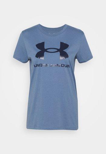LIVE SPORTSTYLE GRAPHIC - Camiseta estampada - mineral blue