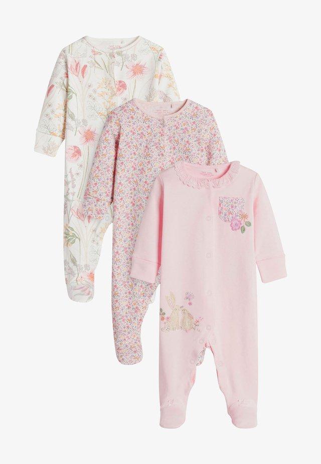 3 PACK - Pyžamo - pink
