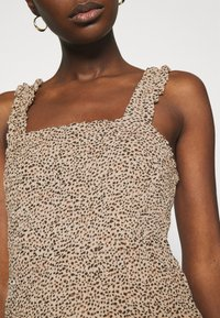 Abercrombie & Fitch - SMOCK WAIST CAMI - Blouse - brown - 5