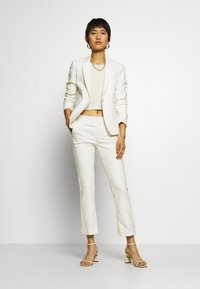 Mos Mosh - IVANA NIGHT KICK - Trousers - off-white - 1