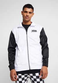 Vans - WINNER'S CIRCLE TRACK JACKET - Training jacket - black/white - 0