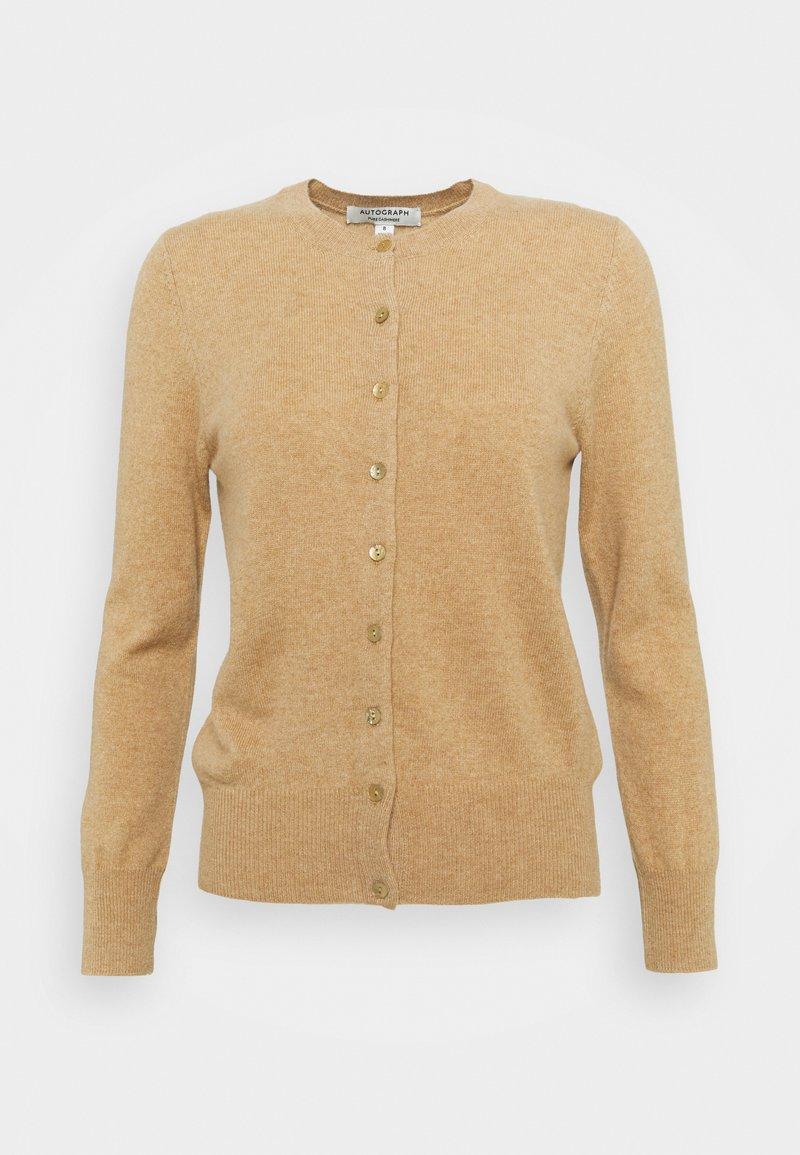 Marks & Spencer London - CREW - Kardigan - beige
