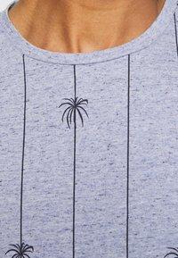 Blend - TEE - T-shirt med print - moonlight blue - 5