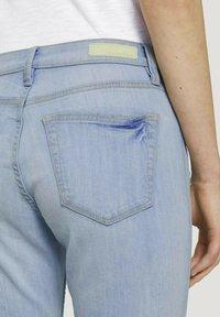 TOM TAILOR DENIM - Slim fit jeans - destroyed light stone blue den - 5