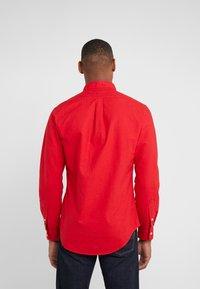 Polo Ralph Lauren - OXFORD SLIM FIT - Skjorta - red - 2