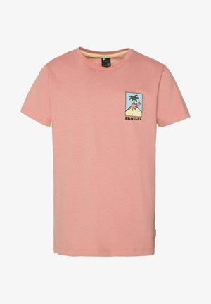 BLAZE JR - T-shirt imprimé - silver pink