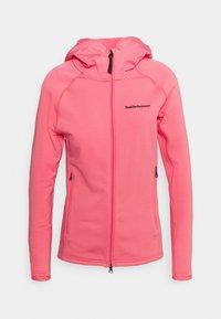 Peak Performance - CHILL ZIP HOOD - Fleece jacket - alpine flower - 0