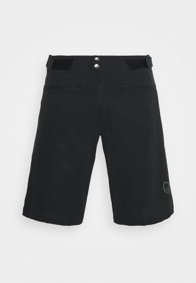 FJØRÅ FLEX LIGHTWEIGHT SHORTS - Sports shorts - caviar