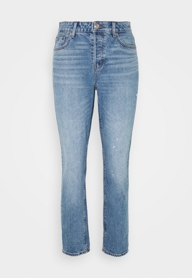 American Eagle - TOMGIRL - Relaxed fit jeans - medium destroy