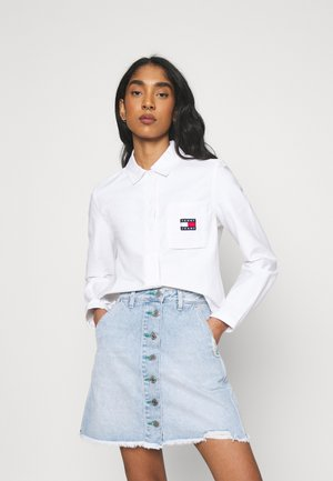 REGULAR BADGE SHIRT - Overhemdblouse - white