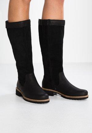 ELAINE - Stivali alti - black