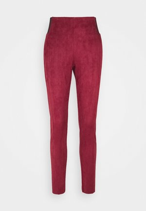 VMCAVA  - Leggings - Trousers - cabernet