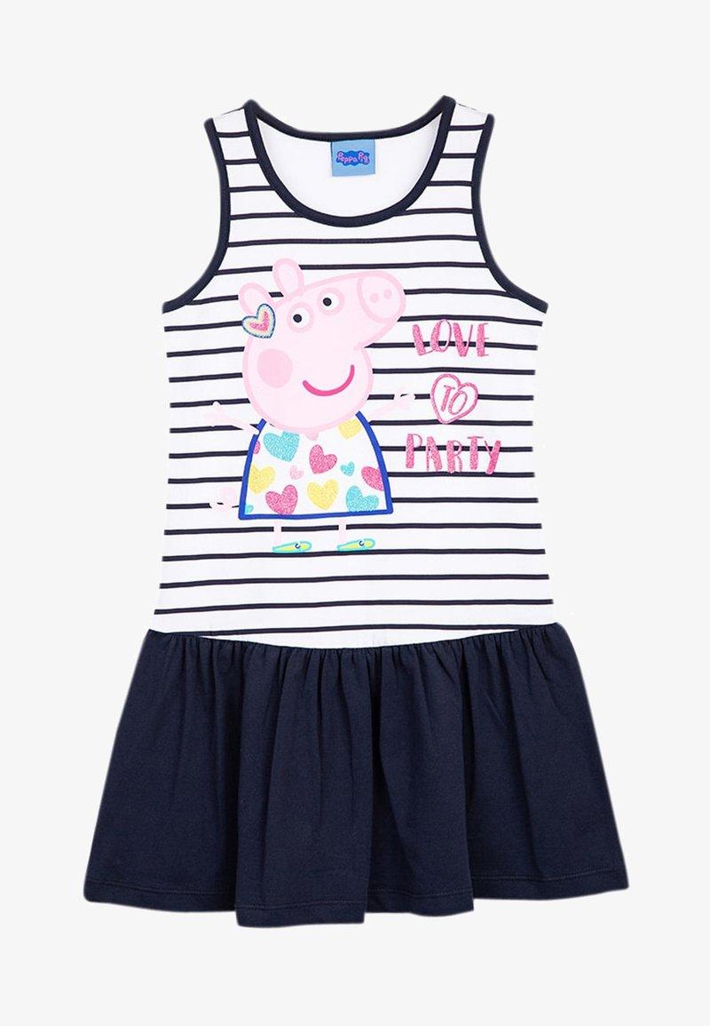 Peppa Pig - Jersey dress - navy blazer