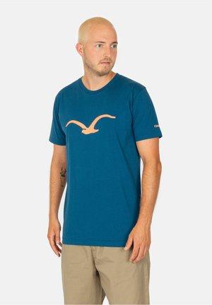 MÖWE - T-shirt print - blue coral