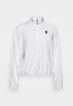 JACKET - Sportovní bunda - white