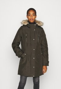 Vero Moda Tall - VMEXPEDITIONTRACK - Winter coat - peat - 0