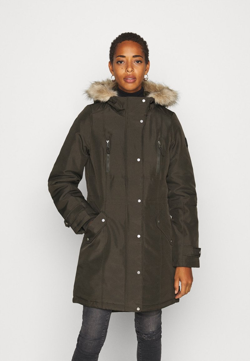 Vero Moda Tall - VMEXPEDITIONTRACK - Winter coat - peat