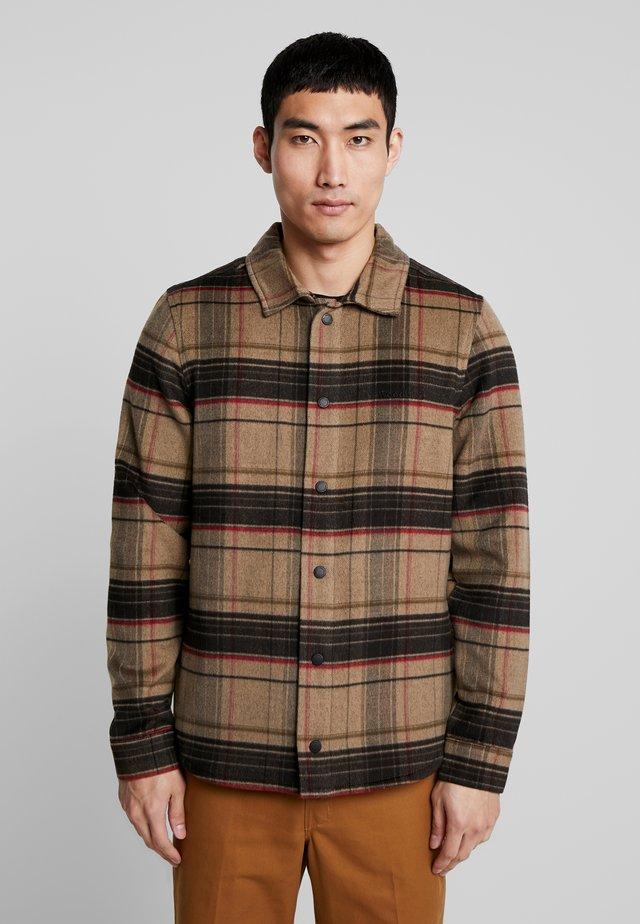 JAXO LUMBER - Camicia - brown check