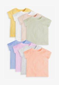 Next - 8 PACK  - Jednoduché triko - multi coloured - 0