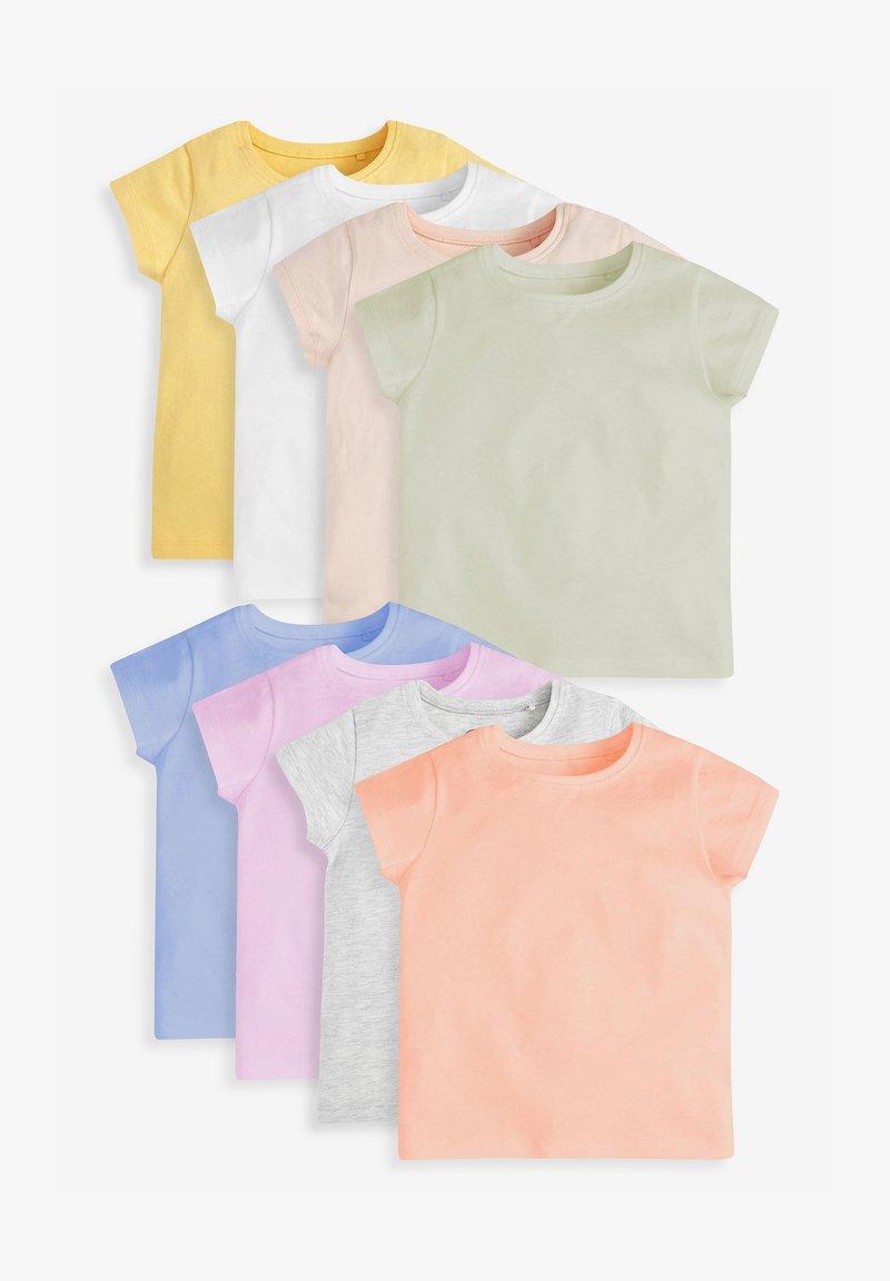 Next - 8 PACK  - Jednoduché triko - multi coloured