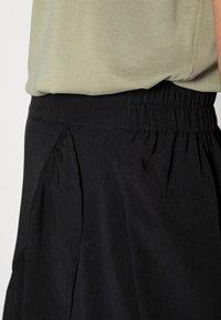 Lindex - SKIRT HILDA - Mini skirt - black - 4