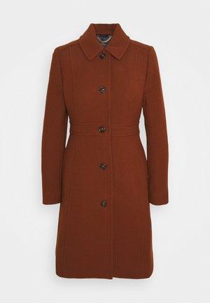 LADY DAY COAT DOUBLE - Zimní kabát - deep redwood