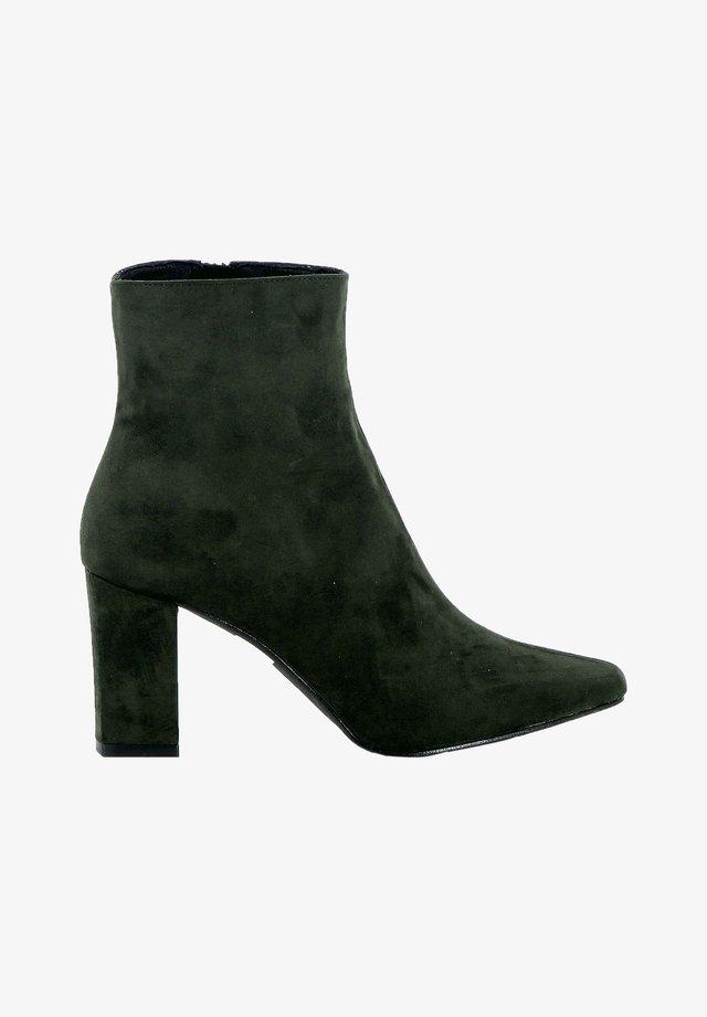 Korte laarzen - dark green