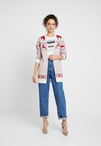 Vila - Cardigan - snow white/red - 1