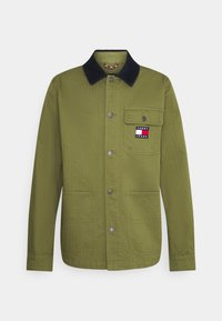 Tommy Jeans - BADGE WORKER JACKET - Giacca leggera - green - 0
