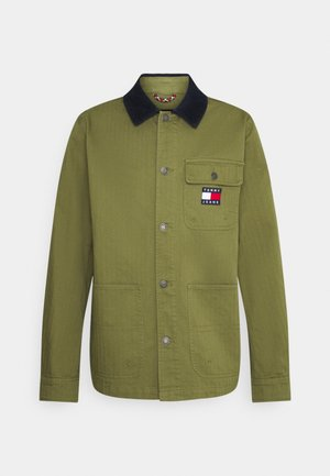 BADGE WORKER JACKET - Summer jacket - green