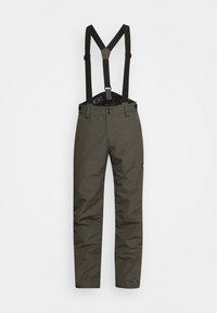 FOOTSTRAP MENS SNOWPANTS - Snow pants - pine grey