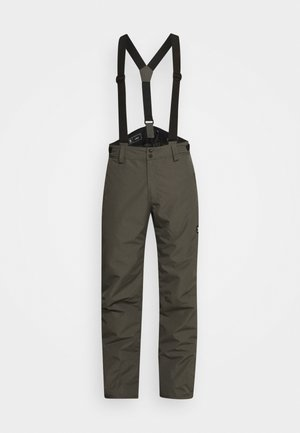 FOOTSTRAP MENS SNOWPANTS - Snow pants - pine grey