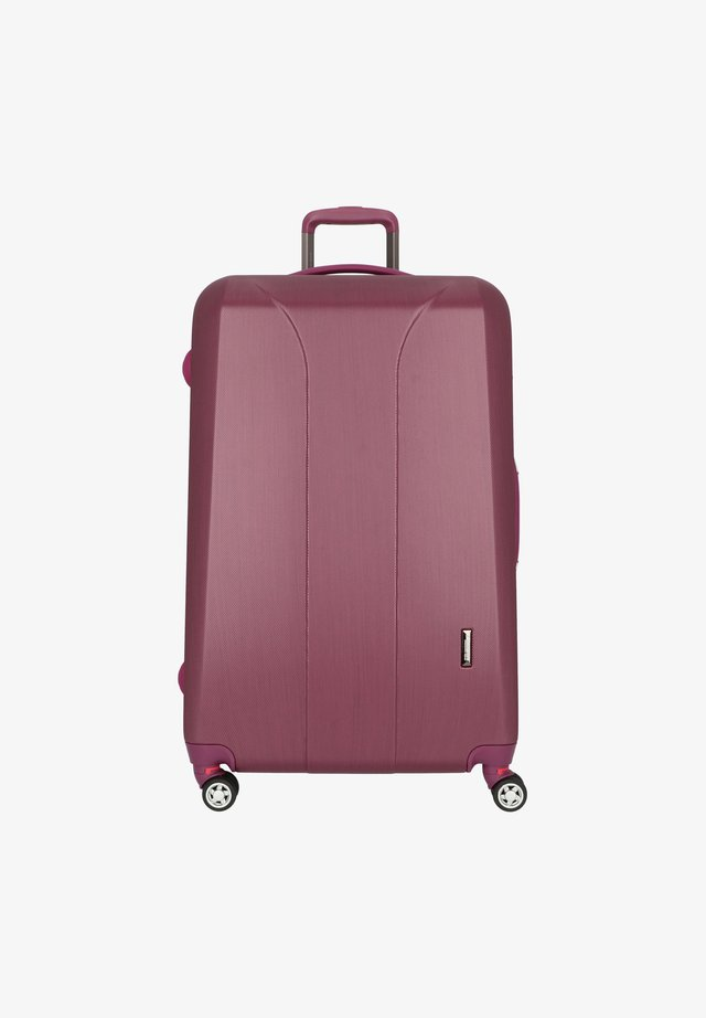 Trolley - burgundi brushed