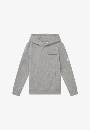 MONOGRAM SLEEVE HOODIE - Hoodie - grey