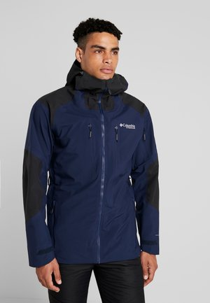 SNOW RIVAL SHELL - Ski jacket - collegiate navy/black