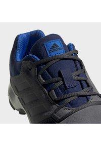 adidas Performance - TERREX HYPERHIKER LOW LEATHER HIKING SHOES - Zapatillas de senderismo - grey - 6