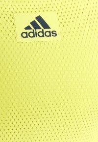 adidas Performance - TANK - Camiseta de deporte - yellow - 2